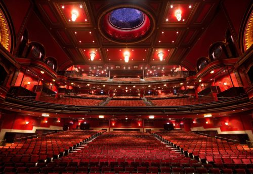 Mayflower Theatre New Auditorium 2018 view from stage